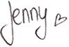 Unterschrift Jenny