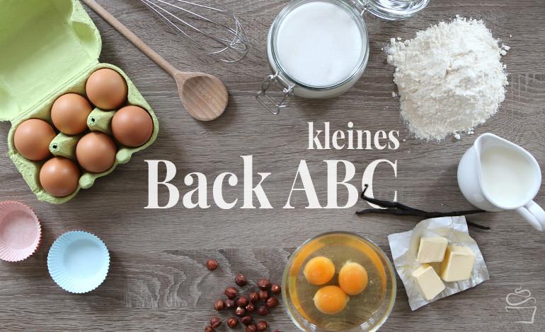 Kleines Back ABC {Tipps & Tricks}