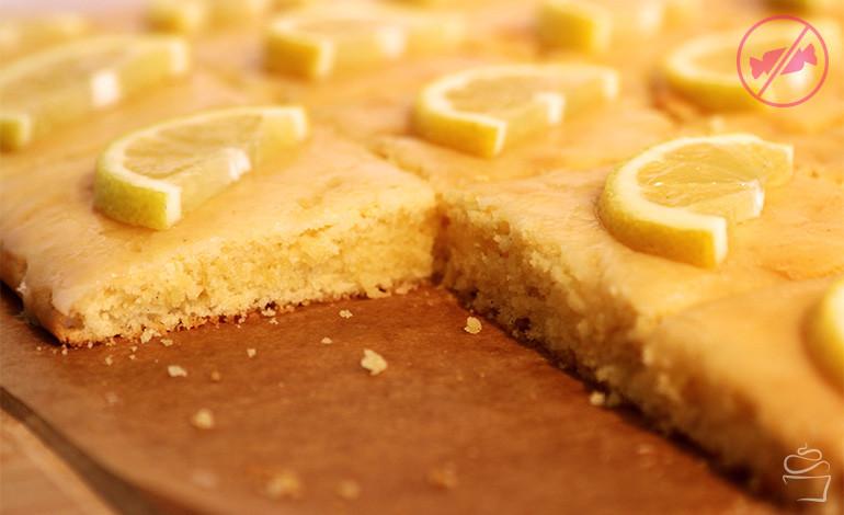 Zitronen-Limetten-Buttermilchschnitten <br>– Fructosefrei –