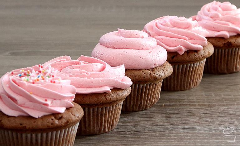 Cupcake Spritztechniken