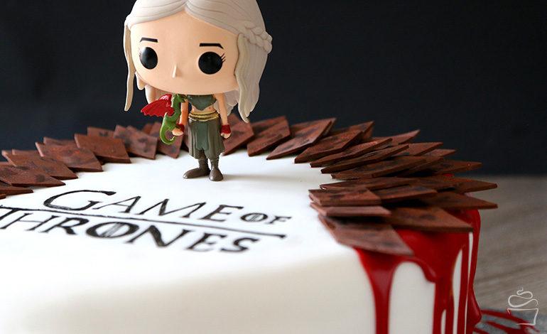 Game of Thrones Cake – Red Velvet & weiße Schokolade