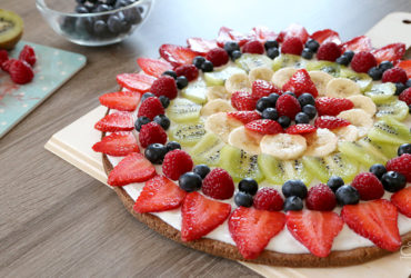 Sommer, Sonne, Fruchtpizza – Pizza mal anders