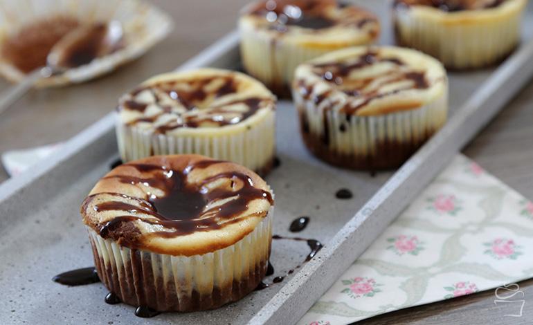 Chocolate Cheesecake Cupcake