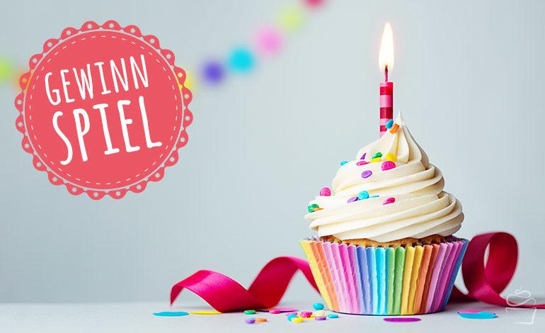 Champagner Cupcakes zum Blog-Geburtstag {mit Gewinnspiel}