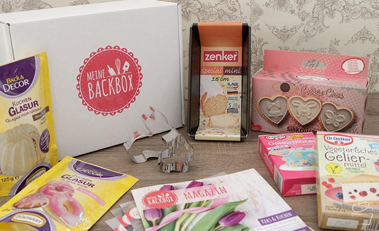 Meine Backbox Osterbox